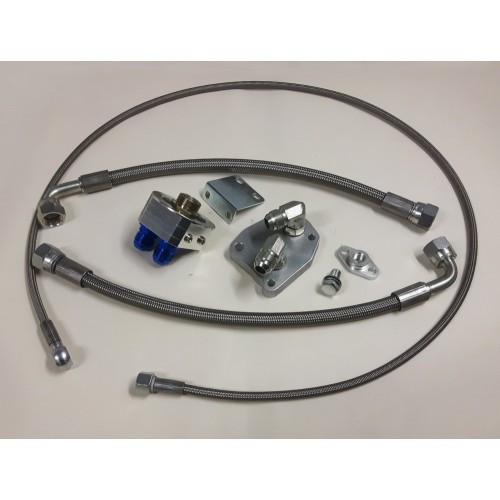 Turbina oilfeed + filter relocator kit (2) M103/M104/om603/om606