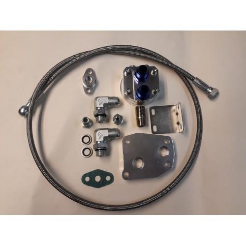 Turbina oilfeed + filter relocator kit (1) M103/M104/om603/om606
